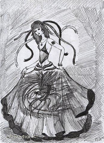 Мои чёрно-белые рисунки. фото 9