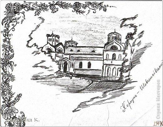 Мои чёрно-белые рисунки. фото 8