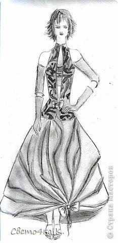 Мои чёрно-белые рисунки. фото 6