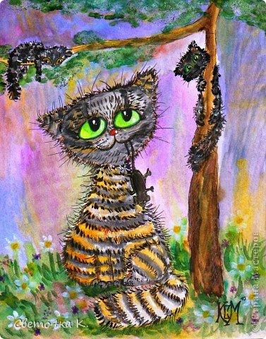 Рисованные котята фото 1