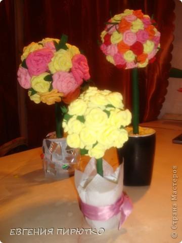 букет роз МК фото 31