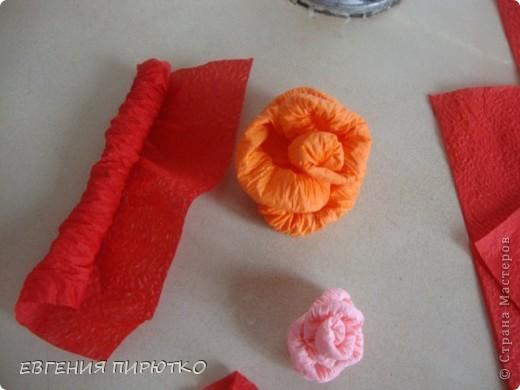 букет роз МК фото 8