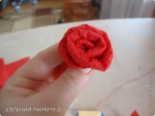букет роз МК фото 14