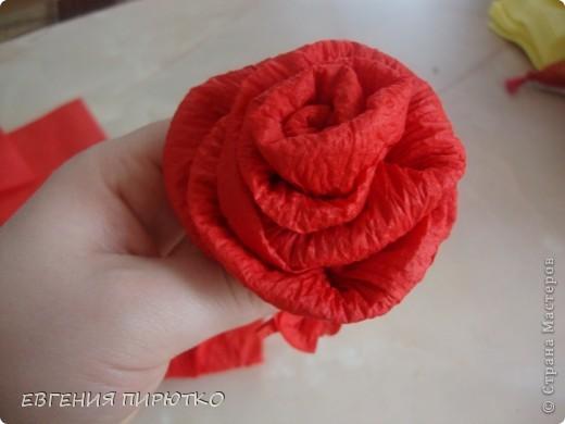 букет роз МК фото 16
