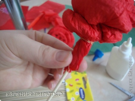 букет роз МК фото 26