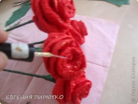 букет роз МК фото 27