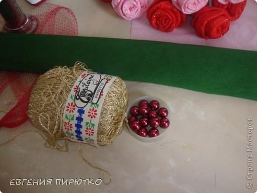 букет роз МК фото 28