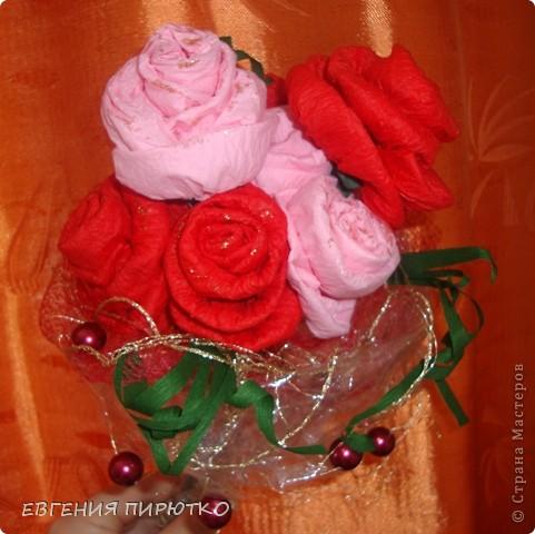 букет роз МК фото 30
