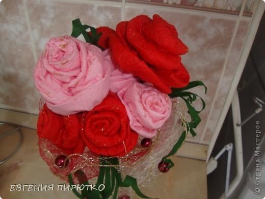 букет роз МК фото 1