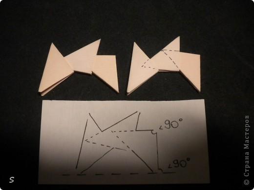 Вот такого маленького красавца мы сейчас будет делать.  Шаг 1: Заготовка. Для этого бумажного скорпиона нам понадобятся 77 модулей 3*4,5 см. Если делать из больших модулей - эффект живого скорпиона не будет достигнут, т.к. чешуйки буду очень большими и неестественными. Модули можно изготовить по данной схеме http://stranamasterov.ru/technic/origami_module?tid=451 . фото 3