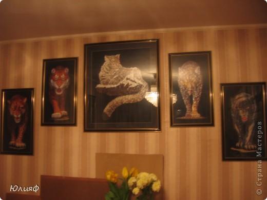 Работа моей родственницы, Мининой Ирины Викторовны. Сделаны из соломы, в технике мозаика. Другие ее работы можно увидеть в моем блоге. фото 1