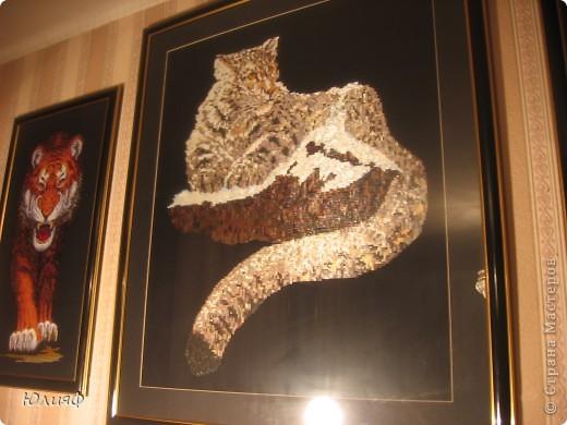 Работа моей родственницы, Мининой Ирины Викторовны. Сделаны из соломы, в технике мозаика. Другие ее работы можно увидеть в моем блоге. фото 2