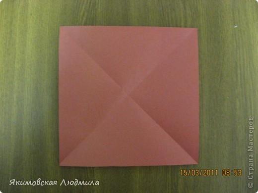 Вот такую ракету в технике оригами можно сделать как элемент композиции на космическую тему. фото 2