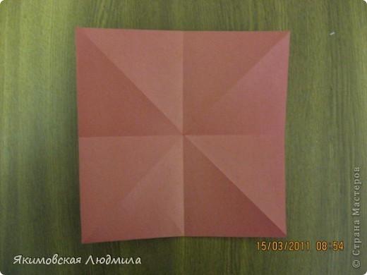 Вот такую ракету в технике оригами можно сделать как элемент композиции на космическую тему. фото 3