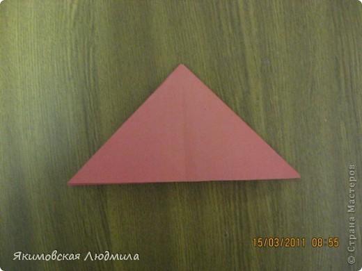 Вот такую ракету в технике оригами можно сделать как элемент композиции на космическую тему. фото 5