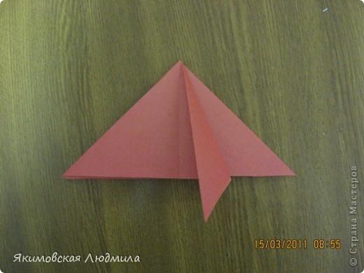 Вот такую ракету в технике оригами можно сделать как элемент композиции на космическую тему. фото 7