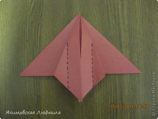 Вот такую ракету в технике оригами можно сделать как элемент композиции на космическую тему. фото 9