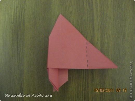 Вот такую ракету в технике оригами можно сделать как элемент композиции на космическую тему. фото 14