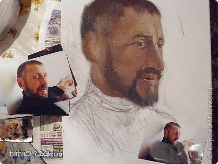 портрет с добавлением сюжетной композиции(обстановка комнаты с леопардом)мой заказ маслом фото 10