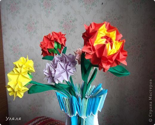 ваза-оригами фото 2