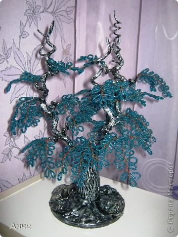 Вот такое фантазийное деревцо у меня вышло. Не могу никак дать ему название. Может кто  поможет? фото 1