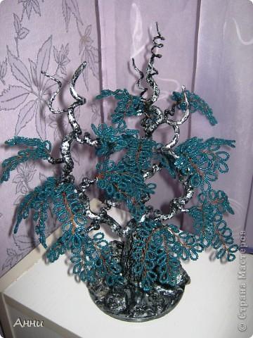 Вот такое фантазийное деревцо у меня вышло. Не могу никак дать ему название. Может кто  поможет? фото 2