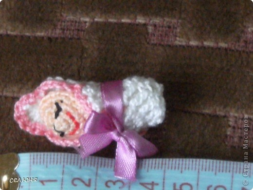 Вот такие пальчиковые куколки в национальных костюмах связала на конкурс в интернете. Познакомьтесь - это жгучая испанка донна Анна и очаровательная украиночка Оксана фото 13
