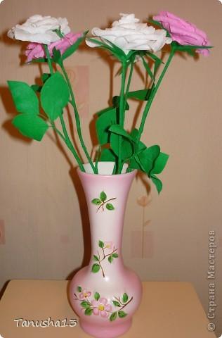 Вот такие у меня получились розы) фото 2