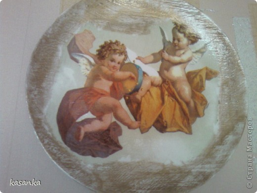 Ангелочки на тарелке