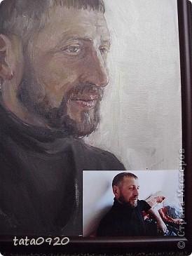 портрет с добавлением сюжетной композиции(обстановка комнаты с леопардом)мой заказ маслом фото 11