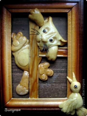 С при ходом весны навеяло такой небольшой сюжетик.Посвящаеться всем домашним котам!  фото 1