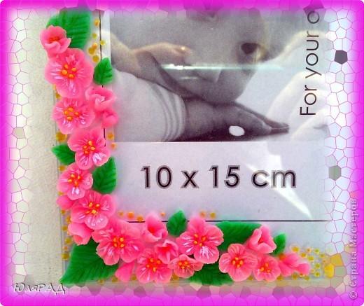 Цветочки и листики из холодного фарфора, украсила акриловыми и витражными контурами))) фото 5