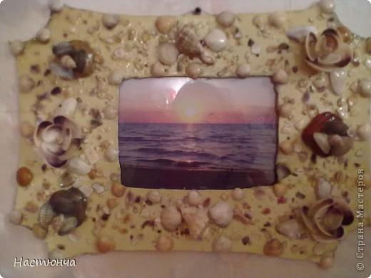 Рамочка из ракушек фото 3