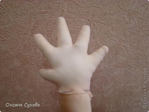 МК изготовление рук (кистей)  фото 11