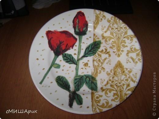 Тарелка для блинов на Масленицу!