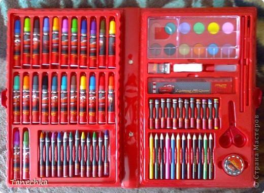Вот такой набор для творчества подарила бабушка моему сыну на 23 февраля. Это он в коробке. фото 3