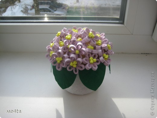 Наступила Весна! И захотелось много-много цветов, получился вот-такой миленький горшочек. фото 1