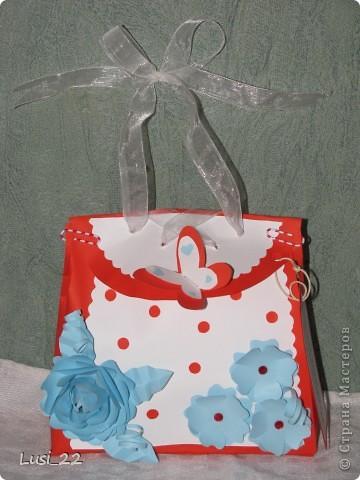 Вот такая сумочка получилась, когда я увидела сумочку у Корсановой Ольги http://stranamasterov.ru/node/60701#comment-1319447 фото 2