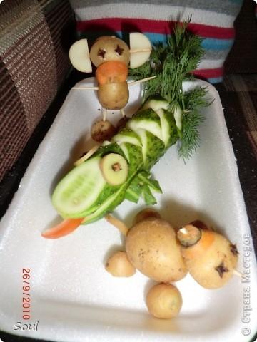 Овощные зверюшки