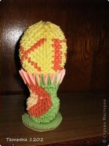 Скоро красивый праздник,я тоже сделала пасхальное яйцо. фото 1