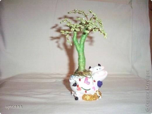бисерное дерево фото 5