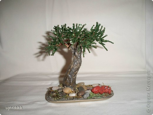 бисерное дерево фото 9