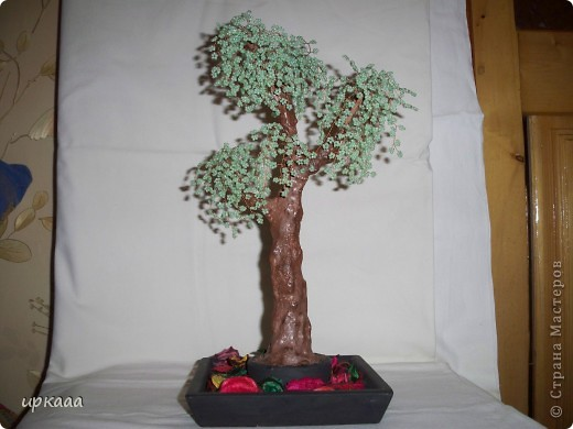 бисерное дерево фото 6
