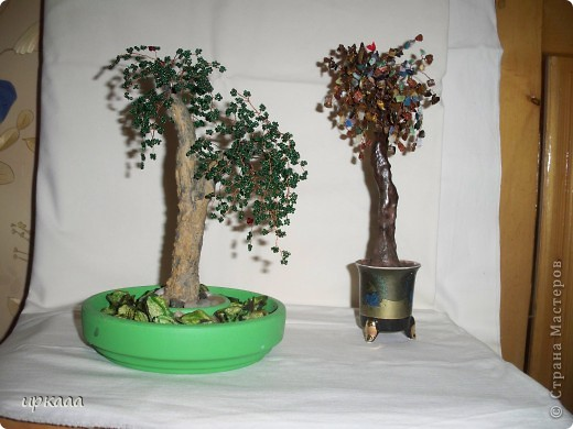 бисерное дерево фото 7