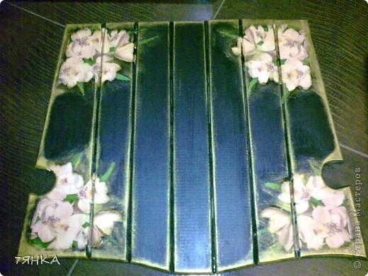 Задекупажила кованые стулья. фото 3