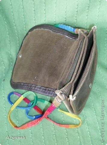 """Как-то недавно в глубинах своего гардероба нашла свои старые сумки из кожи, которые я делала ещё лет 15 назад и , как говориться, """"на коленке"""" фото 7"""