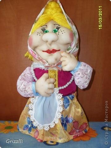 моя очередная бабулька