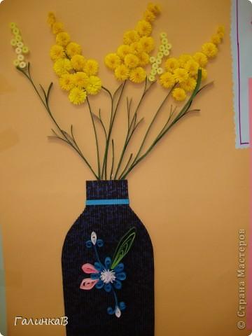 Вот такую стенгазету мы сделали для наших мам к 8 Марта в детском саду. фото 3
