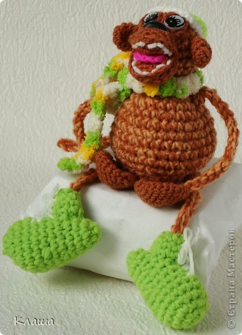 Веселый обезьян