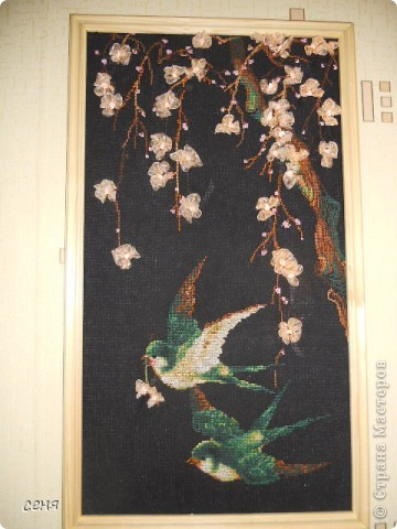 Это Ксюшкин дебют в вышивании. фото 3